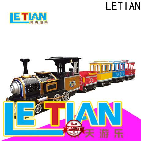 LETIAN Best amusement park train factory park playground