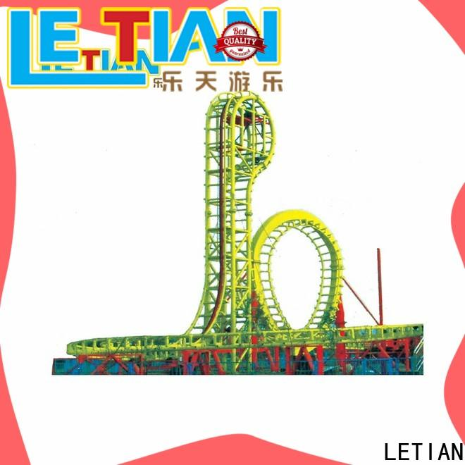 LETIAN mini best roller coasters Supply theme park