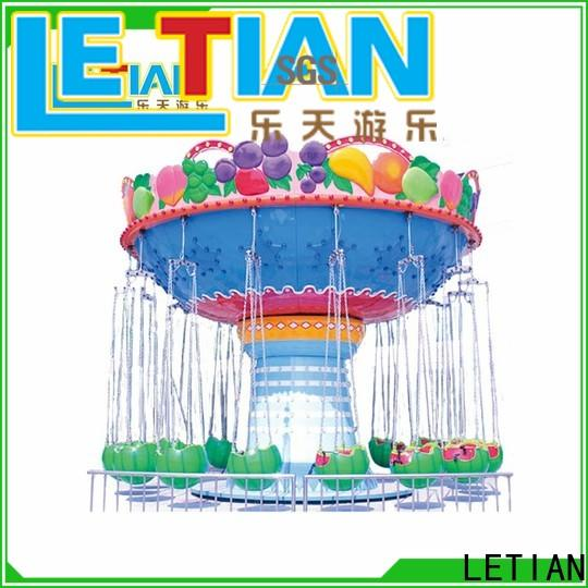 LETIAN Latest swing ride factory theme park