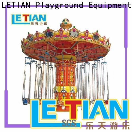 LETIAN Best flying swing carousel amusement park