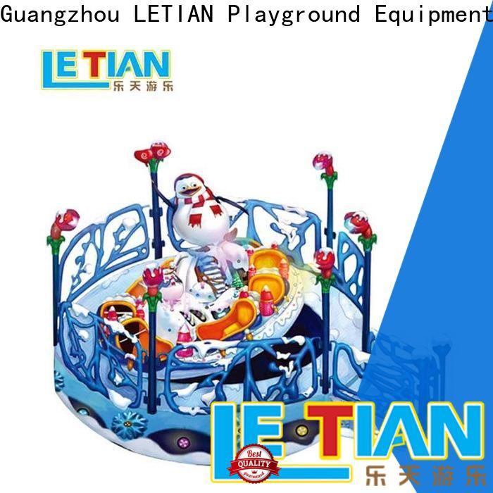 LETIAN rotating cup ride supplier playground