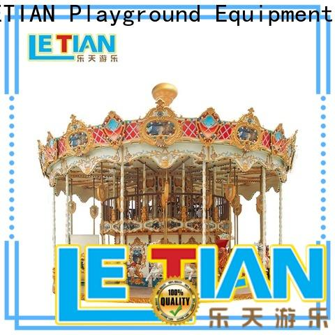 LETIAN Wholesale carousel ride Suppliers shopping centers