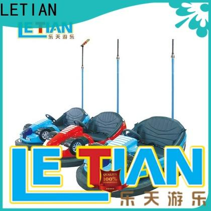 LETIAN lt7073c bumper cars ride manufacturer amusement park