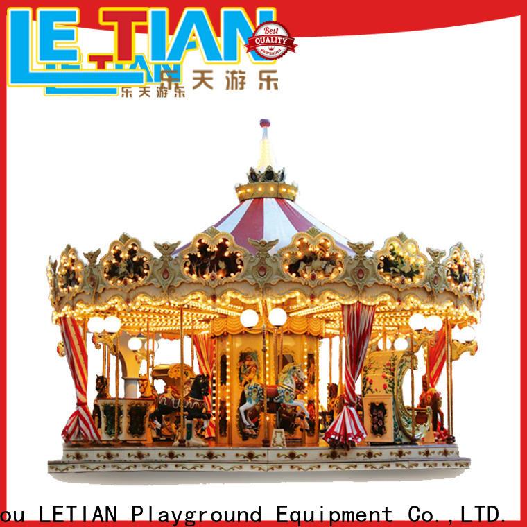 LETIAN Best amusement park rides for kids design fairground