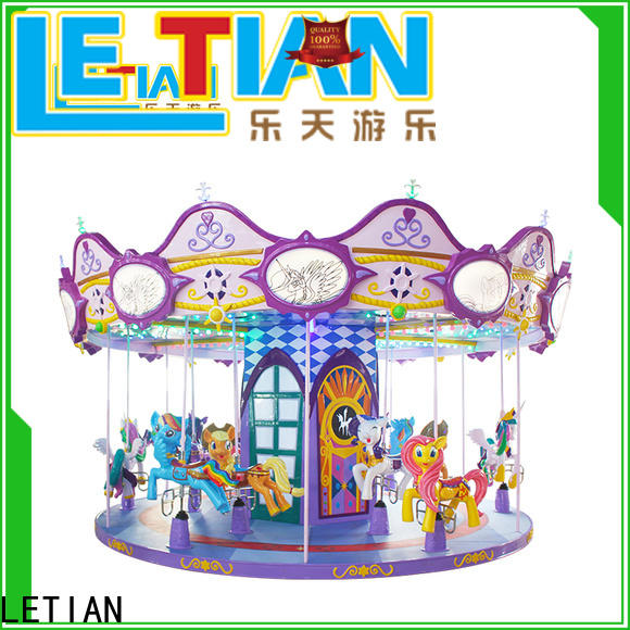 LETIAN lt7031a childrens carousel factory carnival