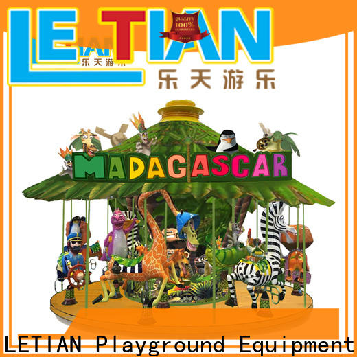 LETIAN made kids carousel design fairground
