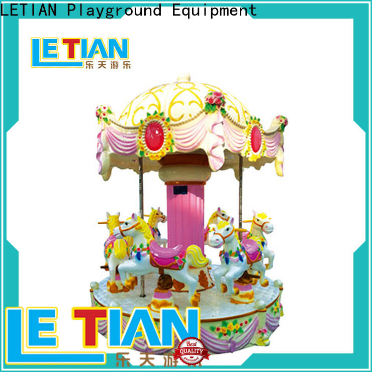 LETIAN High-quality christmas carousel for sale customized carnival