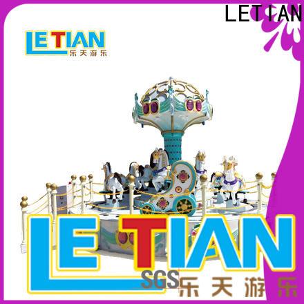 LETIAN New amusement park rides for kids design carnival