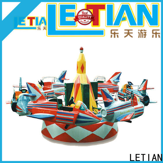 LETIAN good quality Rolling Plane Rides for kids