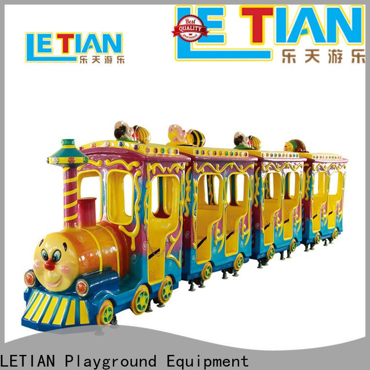 LETIAN chasing amusement park train manufacturer children's palace