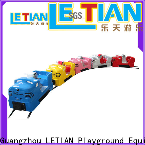 LETIAN trackless thomas the train amusement park life squares