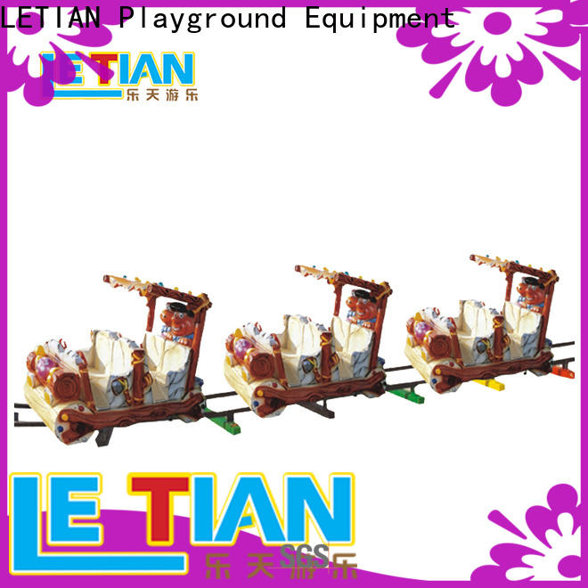 LETIAN small themed train rides company park playground