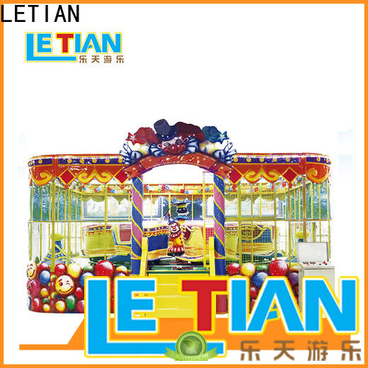 LETIAN electric park train ride for kids children's palace