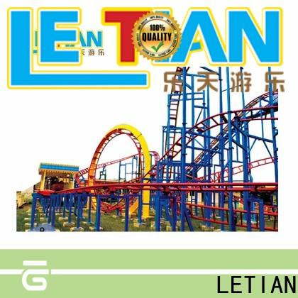 LETIAN unique roller coaster tester game factory playground