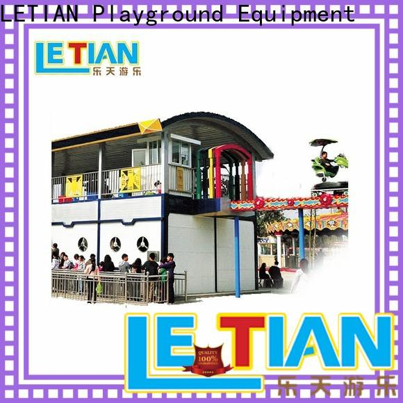 LETIAN sky build my own roller coaster games for kids playground