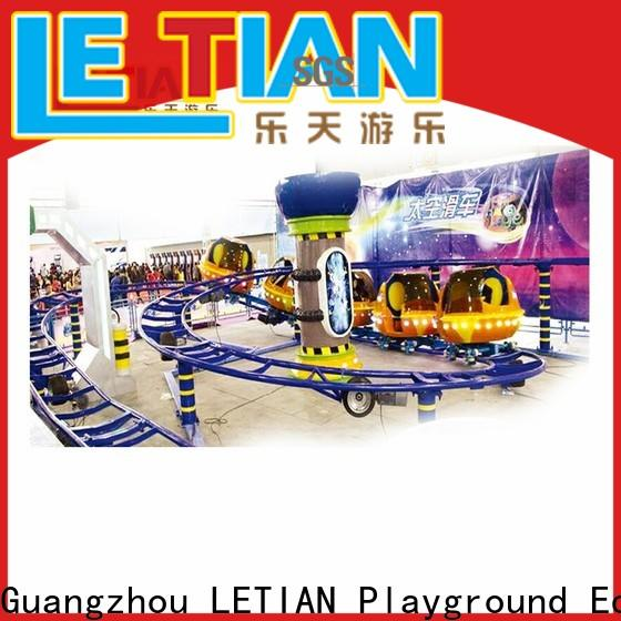 LETIAN rails crazy roller coaster for student playground