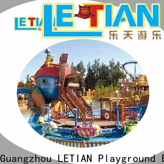 LETIAN Best virtual roller coaster game theme park