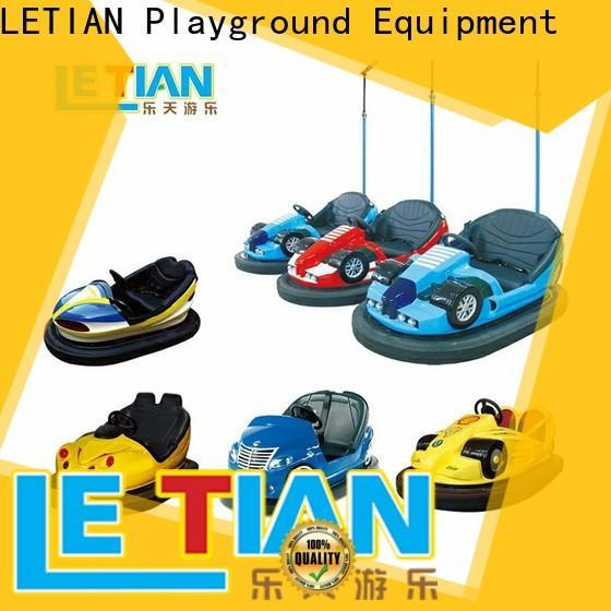 LETIAN selling bumper car racing for kids amusement park