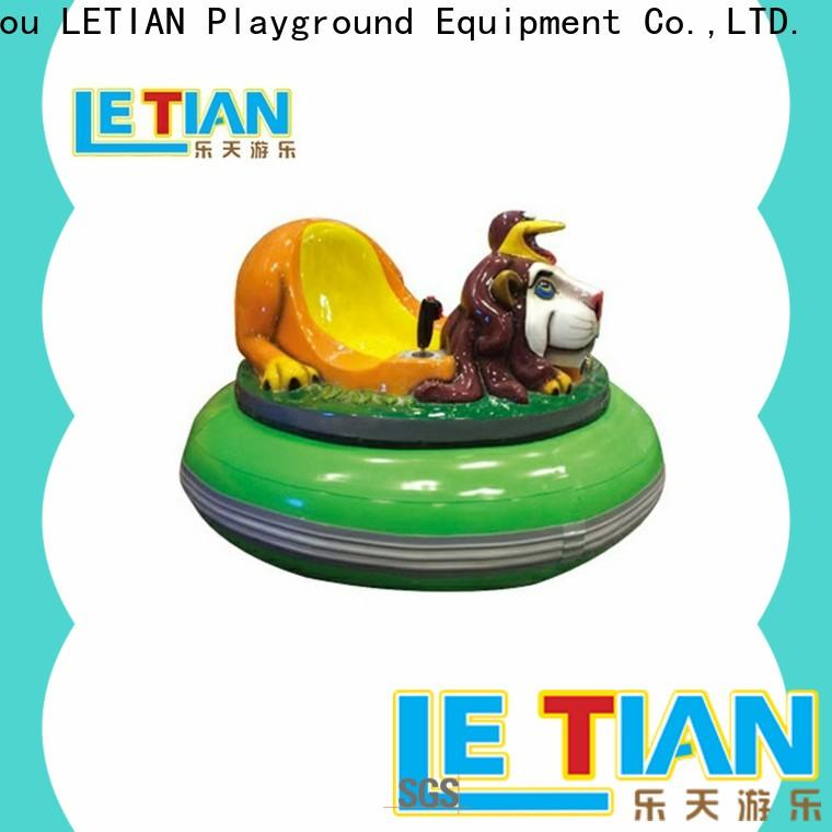 LETIAN New bumper car games with antenna entertainment