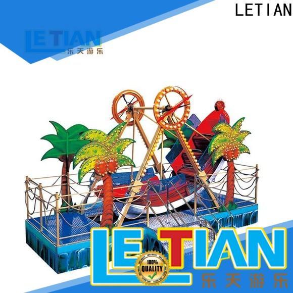 LETIAN sliding rides for kids carnival