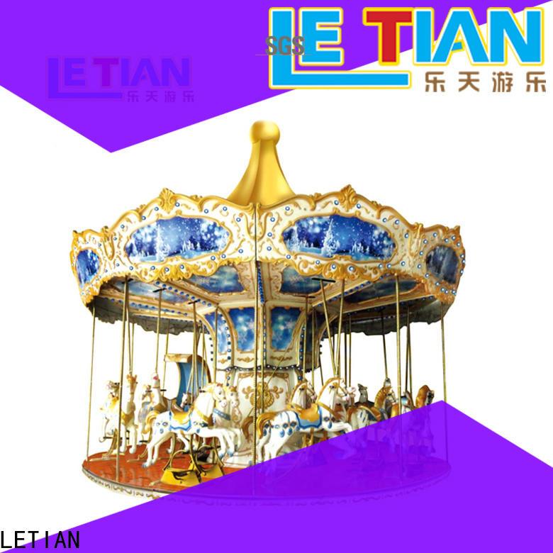 LETIAN lt7040a childrens carousel design fairground