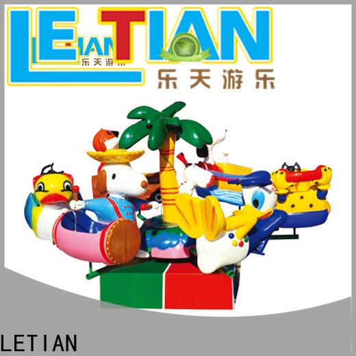 LETIAN funfair rides manufacturer children's palace