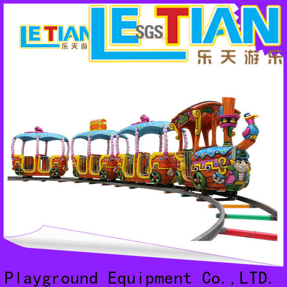 LETIAN funfair small ride on trains China mall