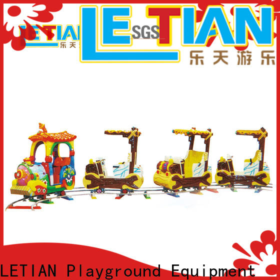 LETIAN Wholesale themed train rides manufacturers park playground