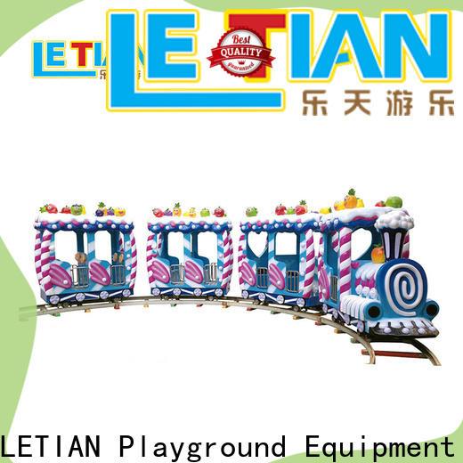 LETIAN orbit amusement train manufacturer children's palace