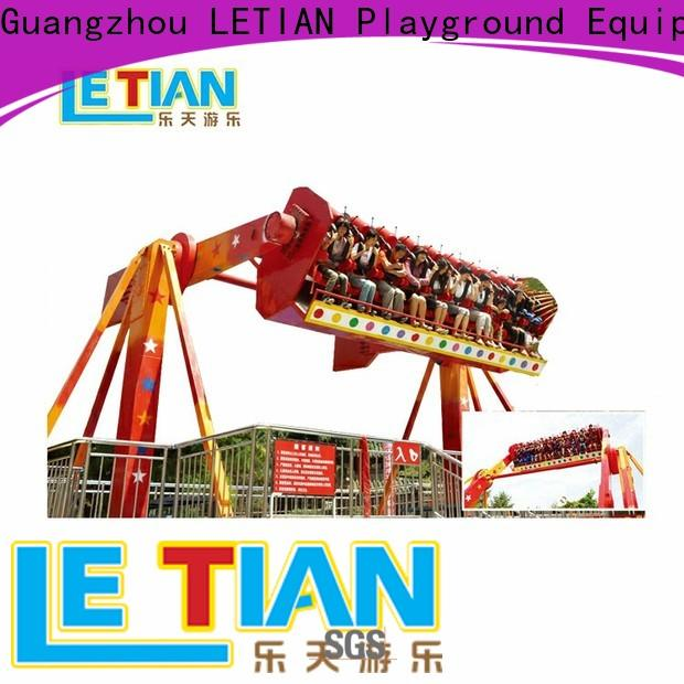 LETIAN 16 seats extreme thrill rides facility amusement park