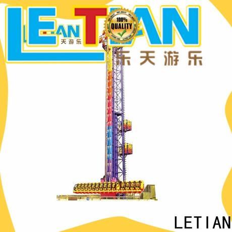 LETIAN good quality sky drop company theme park