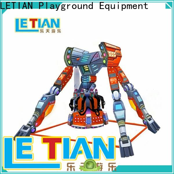 LETIAN travel extreme thrill rides facility playground