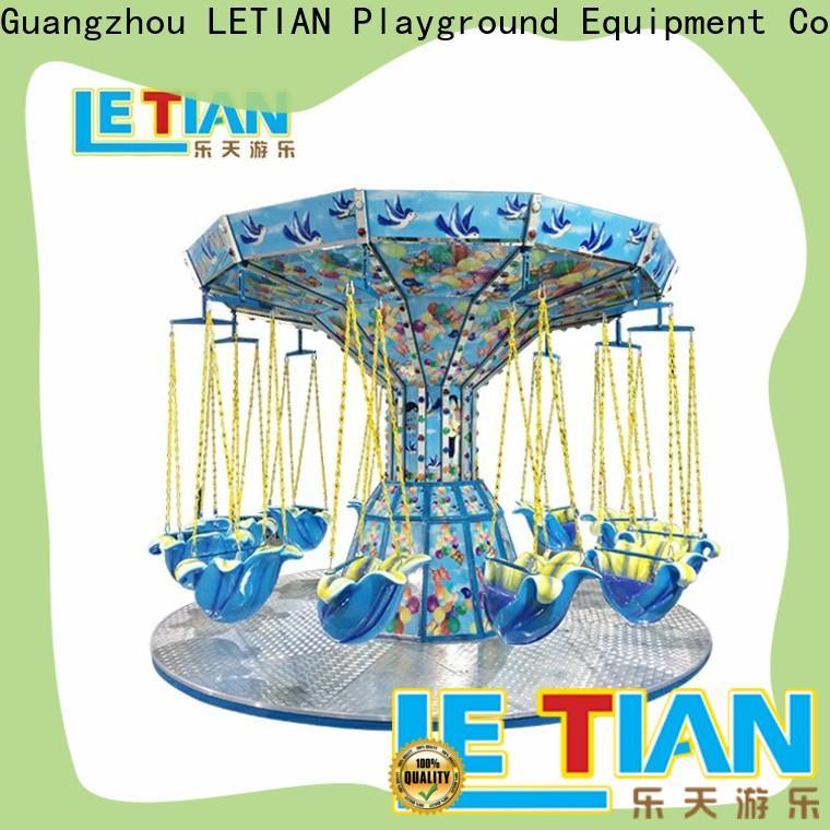 LETIAN Top amusement park swing ride factory fairground