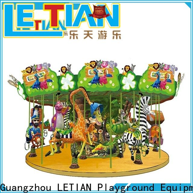 Wholesale carousel kids horse for kids theme park