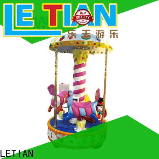 LETIAN Custom small carousel for sale design fairground