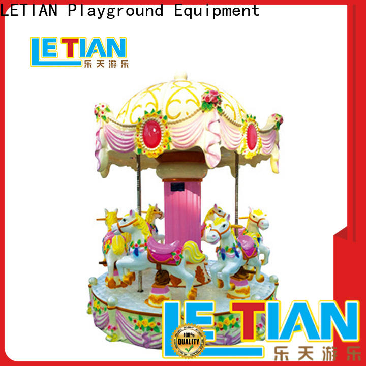 LETIAN Latest a children's carousel manufacturers carnival