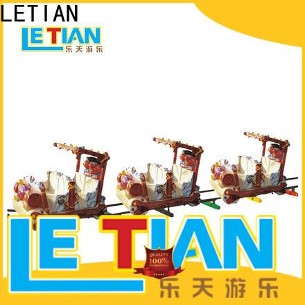 LETIAN New amusement park train manufacturers Supply park playground
