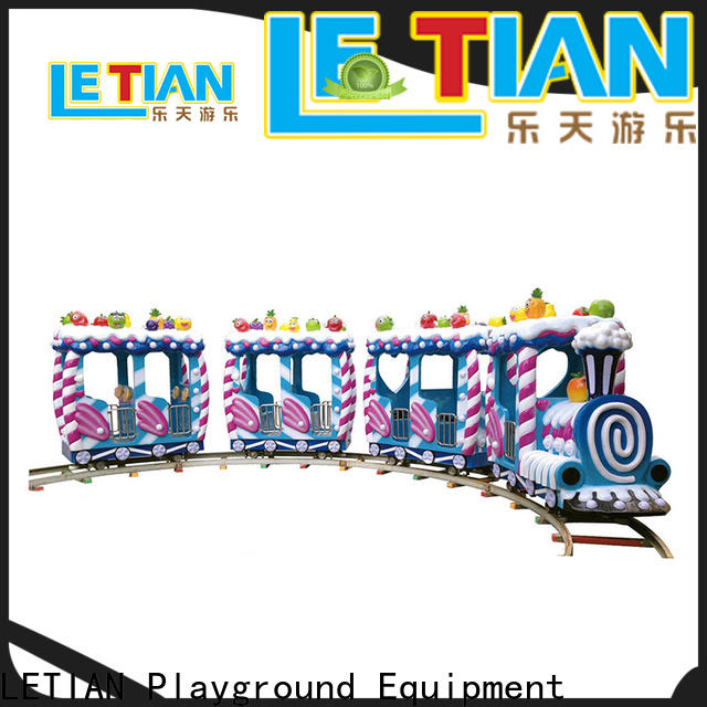 LETIAN seats carnival train ride manufacturer life squares