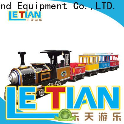LETIAN Latest amusement train rides factory mall