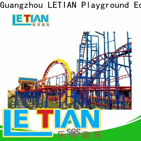 LETIAN Latest games roller coaster games factory playground