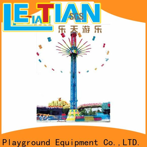 LETIAN fashionable amusement park swing ride customized fairground