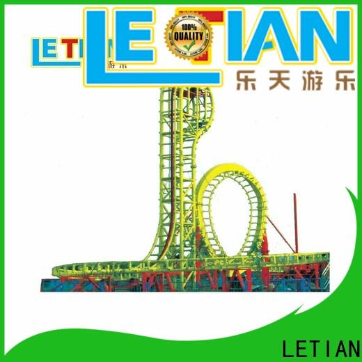 LETIAN park roller coaster interactive factory carnival