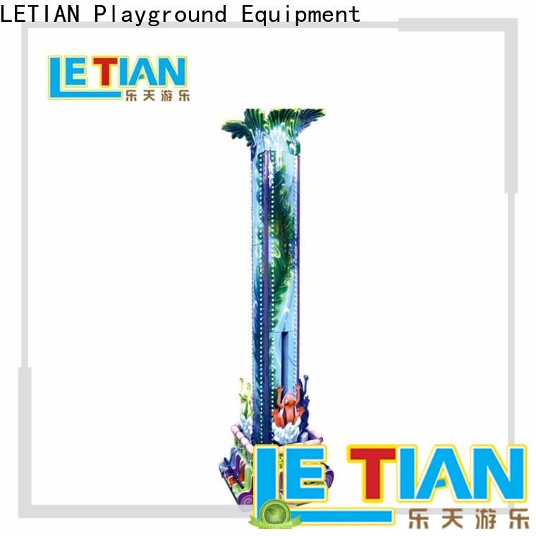LETIAN equipment sky drop ride for business playground