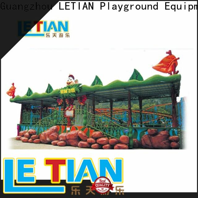 LETIAN lt7016 roller coaster free for student theme park