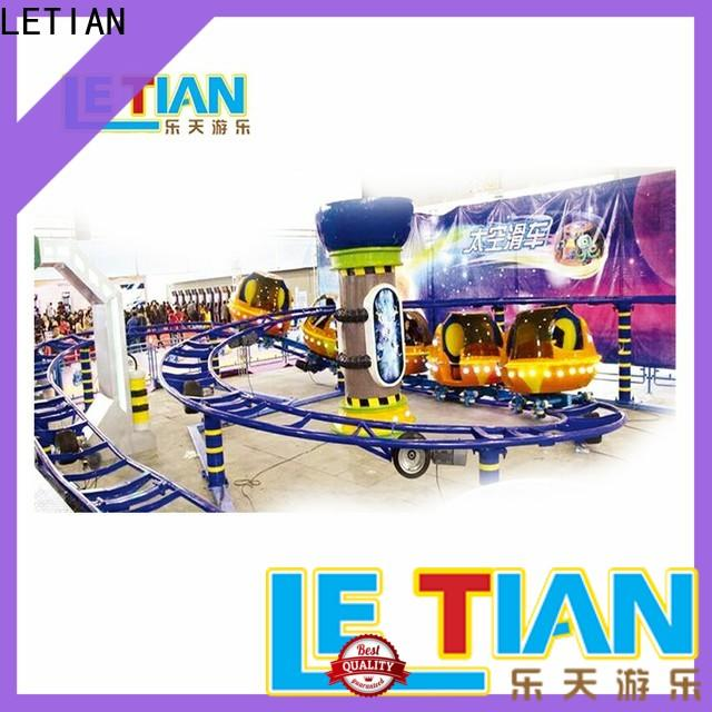 LETIAN Custom on a roller coaster factory playground