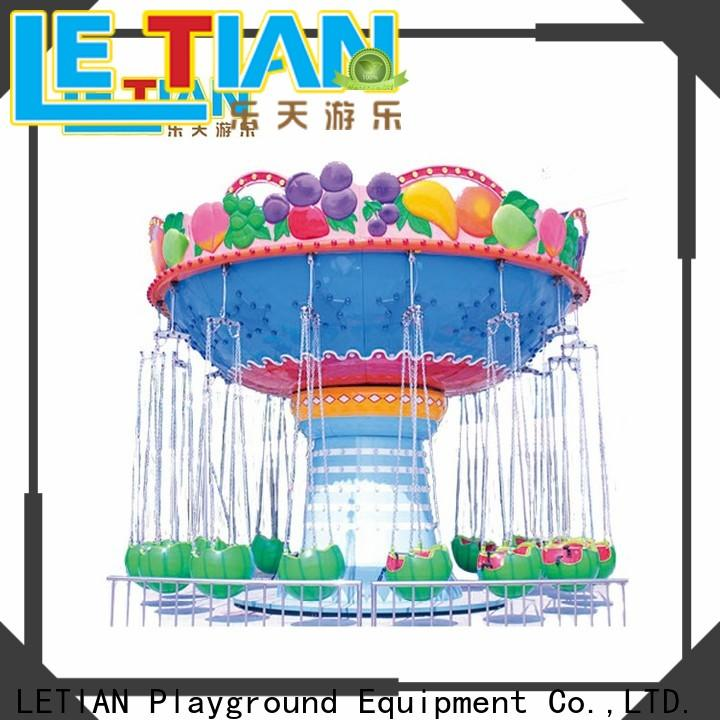 LETIAN fashionable flying swing for business zoo