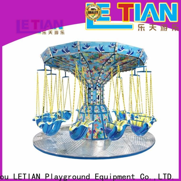 LETIAN children carnival swing ride factory zoo