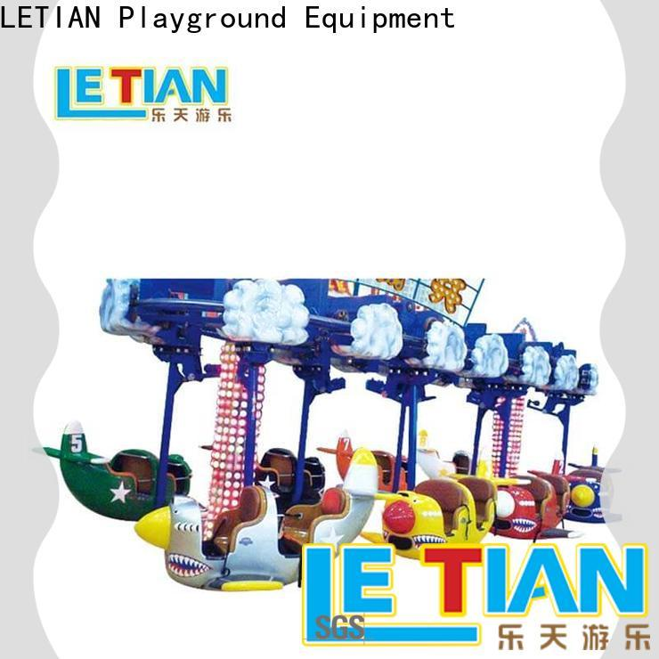 LETIAN sliding pirate ship park tourists mall