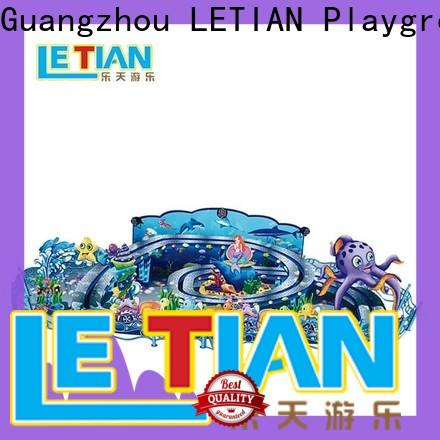 LETIAN interesting cup ride factory playground