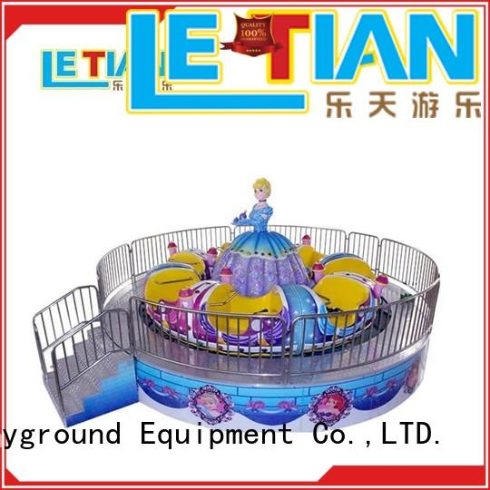 spinning teacup ride rotating entertainment LETIAN